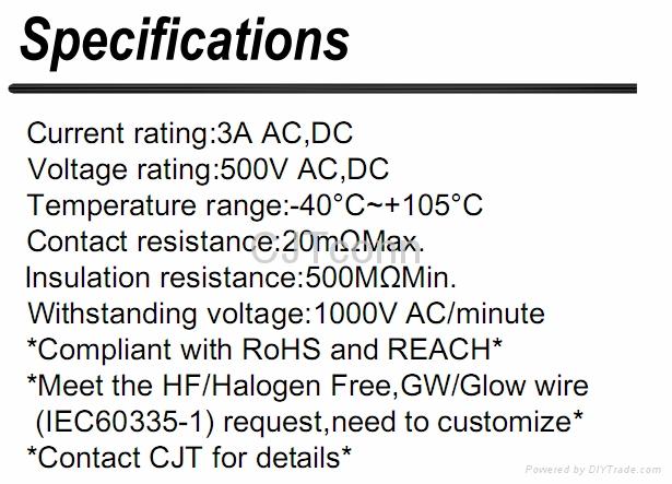 连接器 2.50mm防火公母对插连接器供应YEONHO SMH250 同等品CJTA2512  3