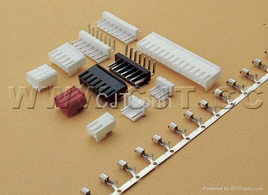 连接器3.96mm CJT长江A3963,LED连接器端子线VHR-3N-R VHR-4N-R VHR-5N-R 2