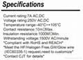 连接器3.96mm CJT长江A3963,LED连接器端子线VHR-3N-R VHR-4N-R VHR-5N-R 3