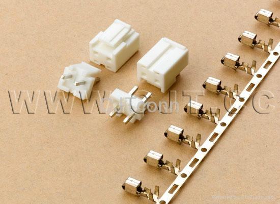 连接器 压接端子5.0间距配套胶壳 传感器 CJT A5001 1