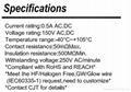 连接器 线对板1.0连接器 供应Hirose DF9 同等品 CJT长江B1000