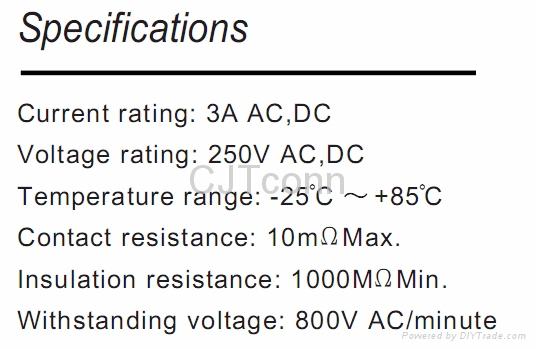 连接器 线对板2.5mm连接器 供应JST SCN 同等品CJTB2512 3