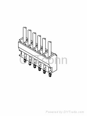 连接器 2.50mm供应MOLEX 5395 同等品 2.5mm电子智能 2