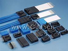 2.54mm薄膜开关线对线连接器_长江连接器