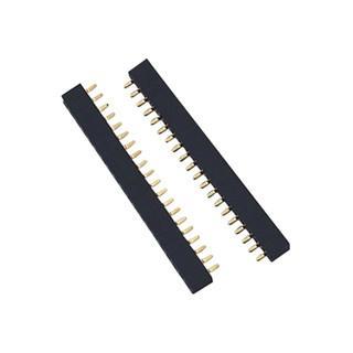 连接器 厂家直销排针排母连接器 PCB板电子电路连接器 1