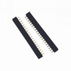 长江连接器厂家直销排针排母连接器 PCB板电子电路连接器