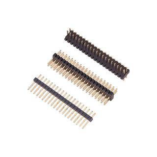 2.5mm 黑色 排针排母连接器 环保连接器 无卤定制连接器 3