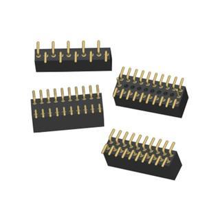 2.5mm 黑色 排针排母连接器 环保连接器 无卤定制连接器 4