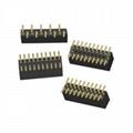 2.5mm black Pin Header connectors Female Header connectors