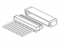 JST 0.6mm XSRS同等品电子连接器线对板