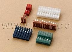 泰科连接器同等品 2.54mm刺破电子 640440 连接器 环保无毒连接器