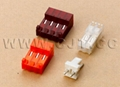 TE connectors 640426-3 640426-4 housing wafer 3.96mm IDC connecotrs