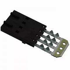 长江连接器2.54mm线对板连接器 薄膜开关连接器 OFH-20MHF-4