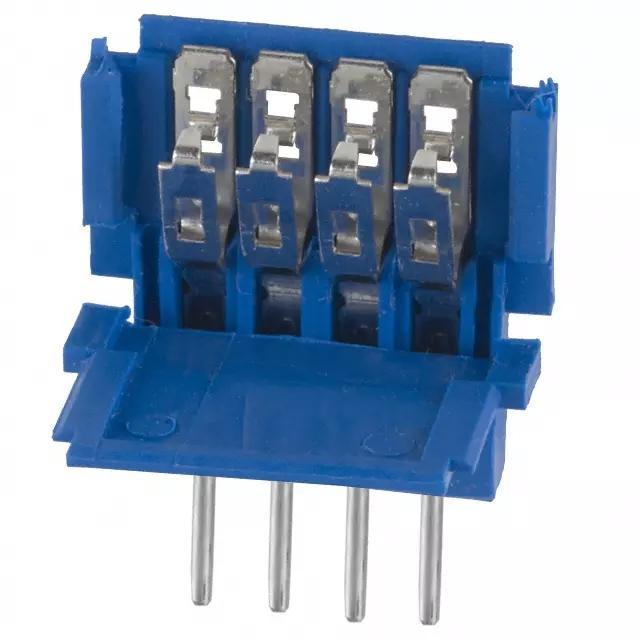 连接器 2.54mm 线对板连接器 薄膜开关连接器 OFH-20MHF-4 4