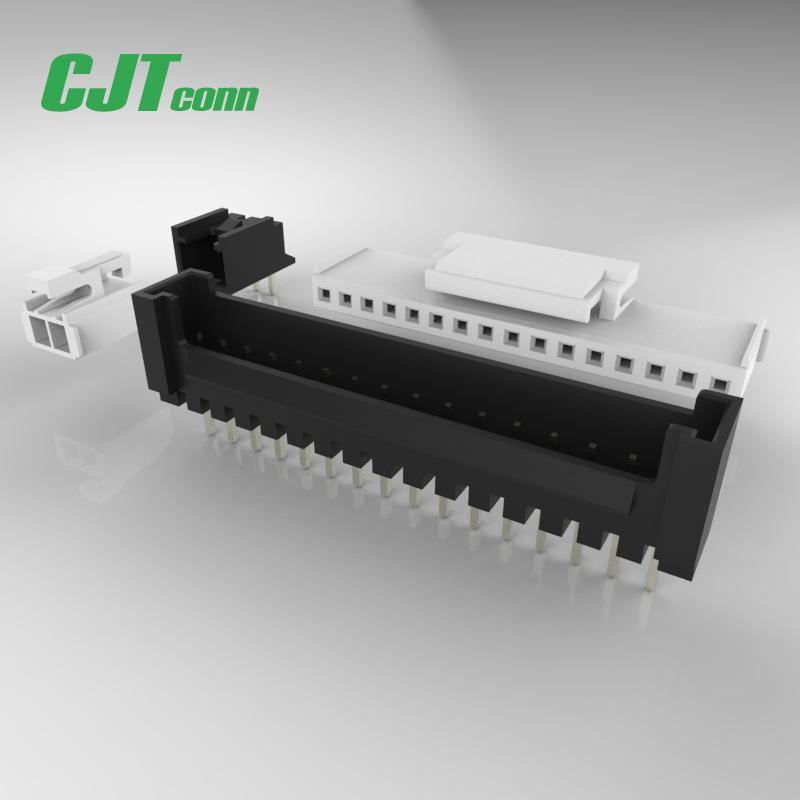 2.0mm(SMH200) 同等品连接器 355070200 SMH2.0卡扣SMT贴片连接器 长江连接器A2008  1