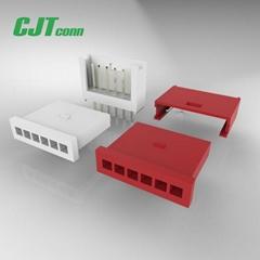 長江連接器線束加工廠A2549 2.54mm(280358)系列線對板電子連接器 280358-0