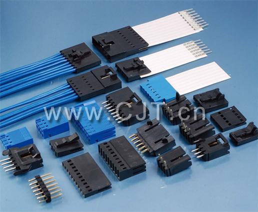 连接器厂家直销 FFC柔性扁平连接器 端子2.54mm OF-02 1