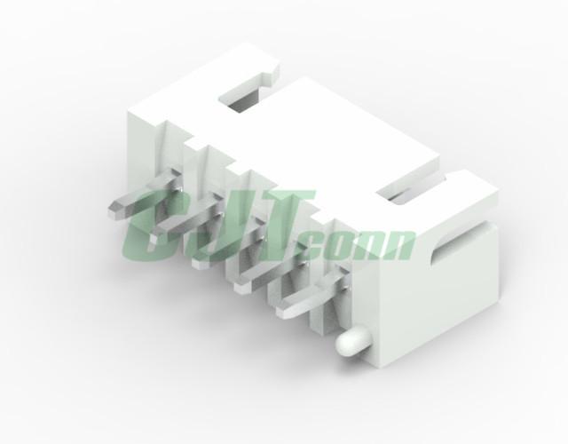 连接器厂家 直销XH2.54mm连接器  B6B-XH-TV4-E B4B-XH-AM-R 2.54mm弯针红色 1