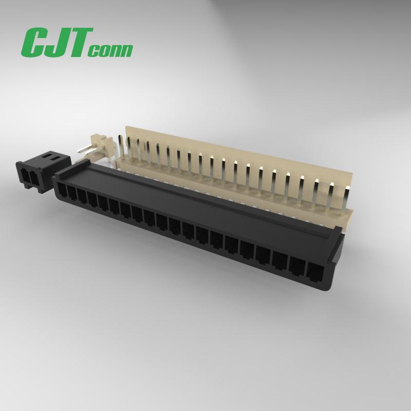 连接器 2.5mm线对板工业快速连接器A2503  CJT供应Dupont 2.5 同等品 1