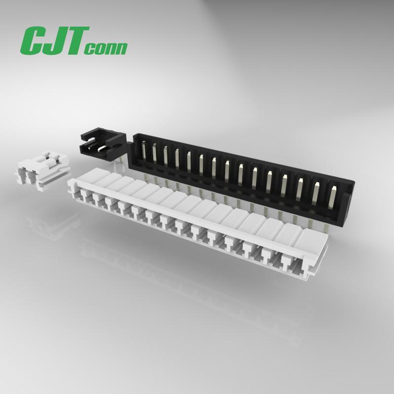 连接器 CJT2.5mm同等JST EH 同等品,A2502  EH2.0家电智能连接器 1