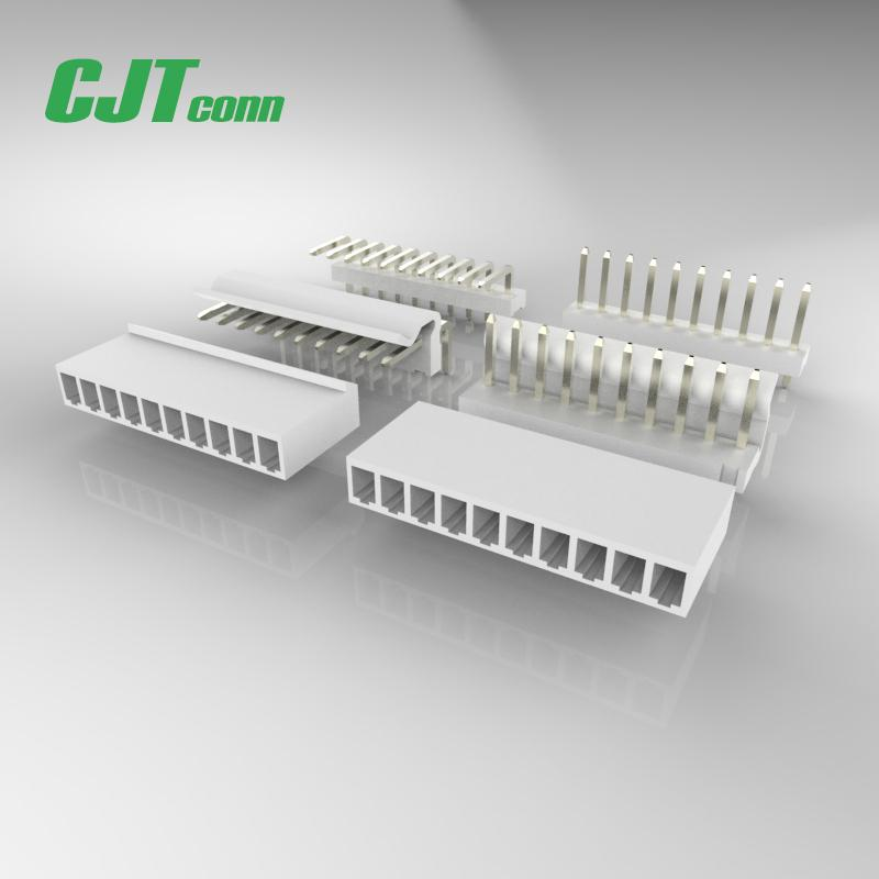 连接器 3.96mm 快速连接端子端子线640251-3 0039000344CJT长江A3961 1