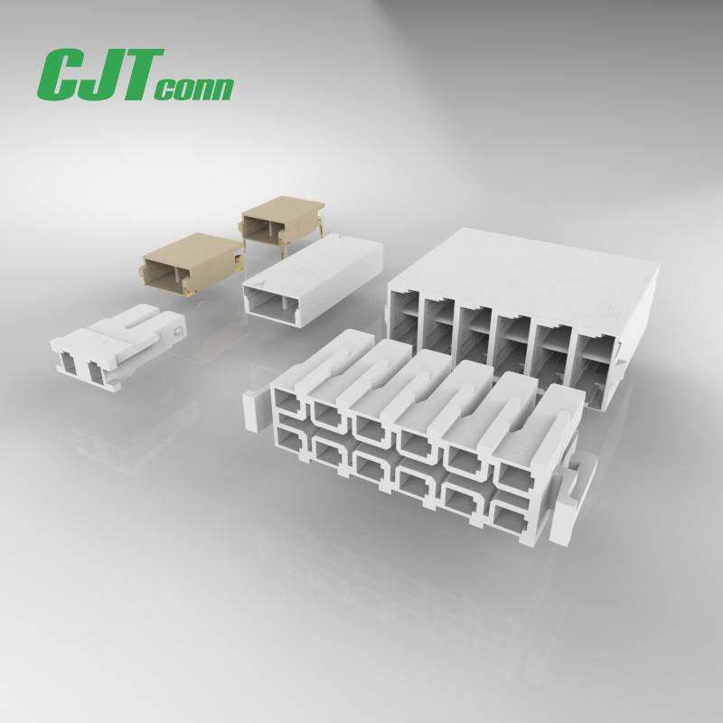 连接器3.5mm PCB连接线延长线35001HS-02 35001HS-02 CJT长江A3501  1