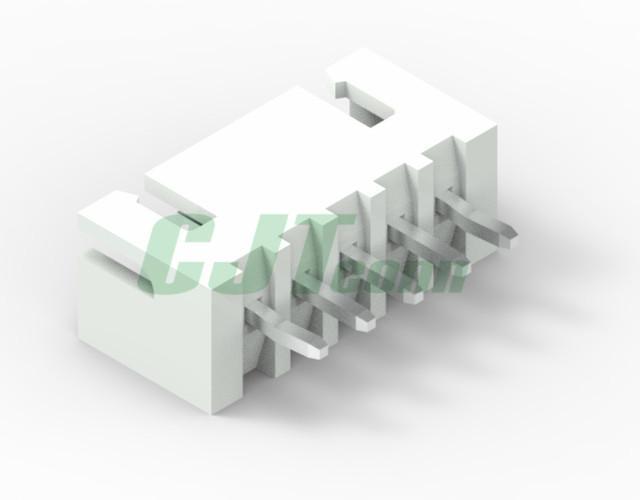 连接器 B4B-XH-A-E  xh2.54连接器家用连接线带扣2.54 长江A2501 1