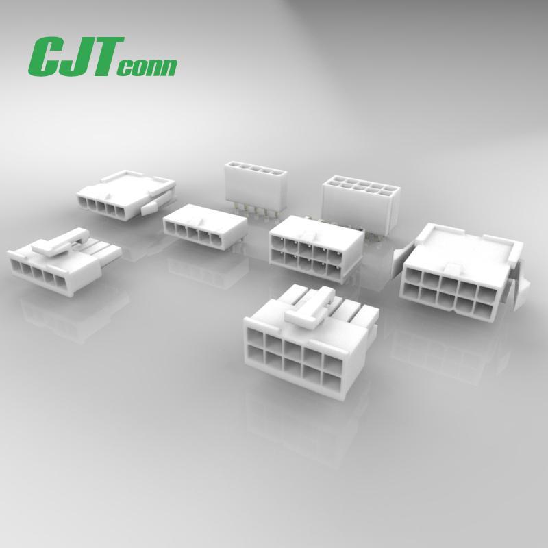电子元器件4.20mm间距线板连接器CJTconn电子连接器 1