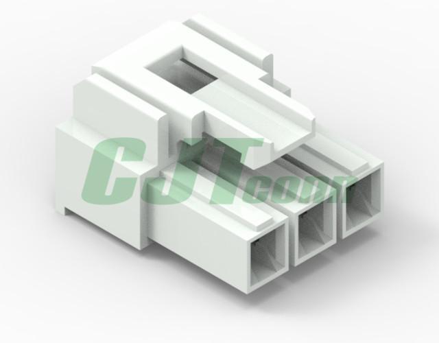 连接器塑壳 间距 6.20mm 线对板和线对线连接器  VLP-02V-1  1