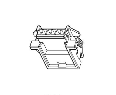 连接器2.0mm C2003 线对线连接器  PNIRR-02V PNIRP-02V-S 2