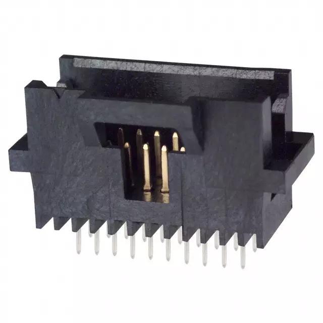 TE同等品连接器1.27mm线对板连接器 卧式贴片端子 3