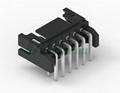 接线端子2.0mm 2.0线对板黑色直插连接器 A2009 DF11-4DS-2C DF11-6DS-2C  4