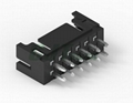 黑色胶壳 2.0mm PCB插座 双排 DF11-4DS-2C DF11-6DS-2C 2