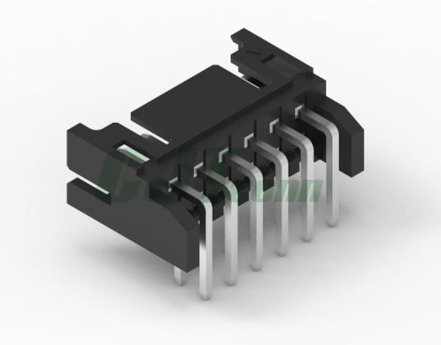 黑色胶壳 2.0mm PCB插座 双排 DF11-4DS-2C DF11-6DS-2C 3