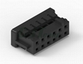 黑色胶壳 2.0mm PCB插座 双排 DF11-4DS-2C DF11-6DS-2C 4