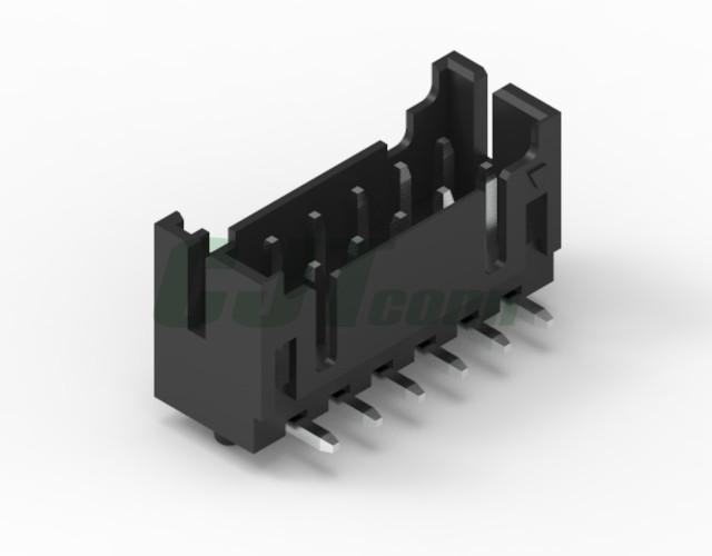 黑色胶壳 2.0mm PCB插座 双排 DF11-4DS-2C DF11-6DS-2C 5