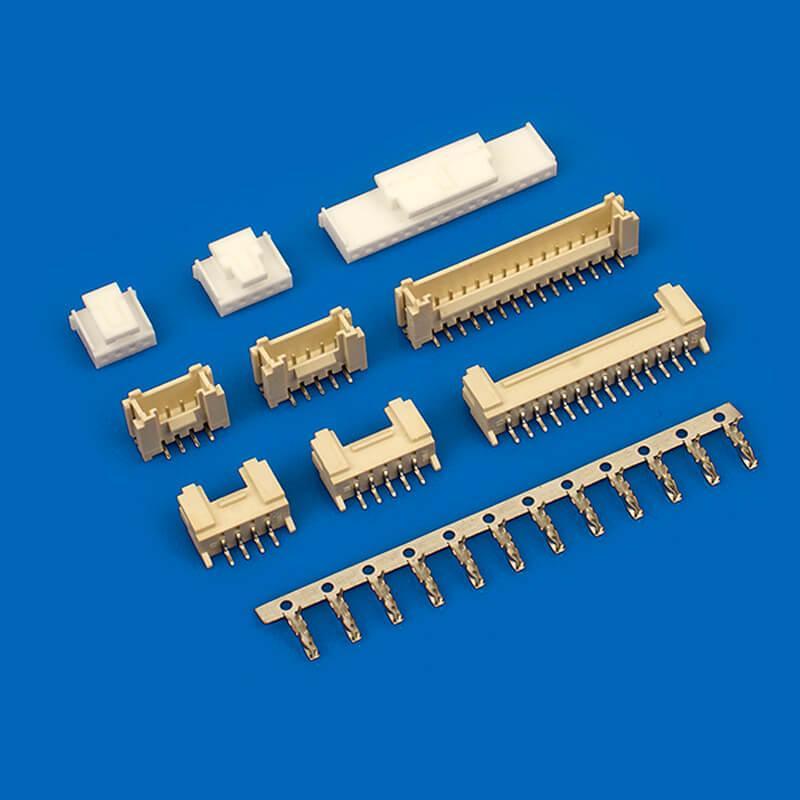 然胡连接器同等品 2.0mm立式贴片SMW200-H02G1 SMW200-H03G1 2