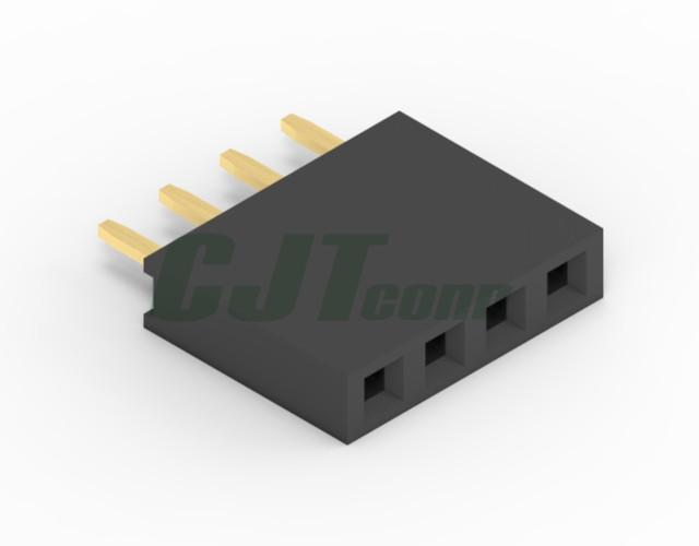 连接器 杜邦2.54mm 黑色排母连接器 90147-1103 90147-1104  2