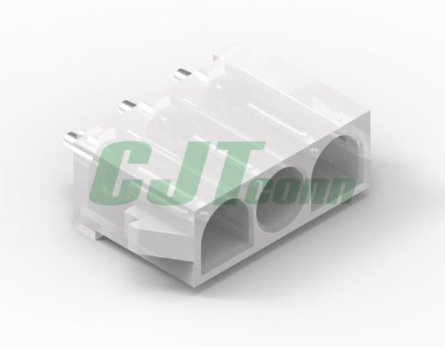 6.35mm膠殼針座 TE連接器同等品 防水連接器 350428-1 350429-1  1