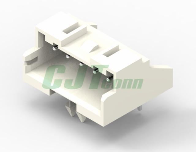 电子元器件 JST连接器 XA2.5mm 弯针带定位柱插座 S02B-XASS-1 S02B-XASK-1  1