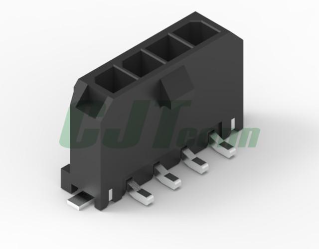 3.0mm 立式貼片連接器莫仕連接器同等品 43650-0524 43650-0624  1