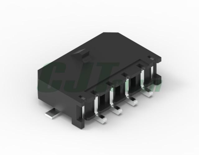3.0mm卧式贴片连接器 43650-0412 43650-0512 长江连接器 2