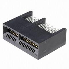 长江连接器1.0mm 1761465-1 1761465-2 PCIE 连接器 环保连接器