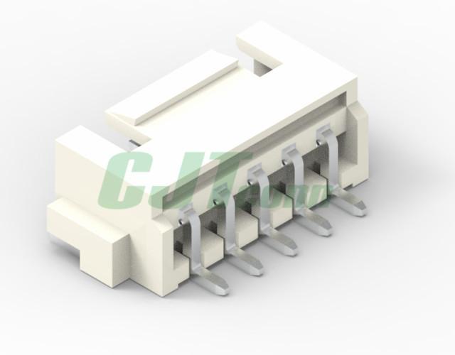 連接器 2.5mm 象牙色 臥式貼片連接器  CJT A2512WR  2