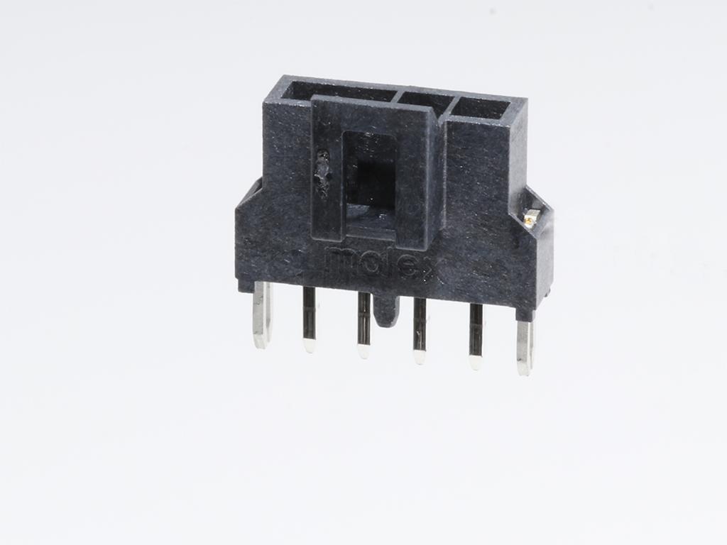 MOLEX連接器同等品2.5mm 105311-1102 105311-1103 黑色直針插座連接器 2.5mm帶柱