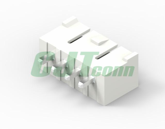 3.96mm白色矩形接插件 长江连接器国产 35313-0260 35313-0360  环保连接器 2