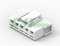 3.96mm 白色塑壳连接器 35156-0500 35156-0600环保连接器 长江连接器  2
