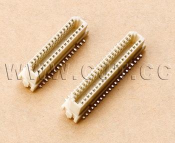 1.0mm板对板连接器 长江连接器国产DF9-41S-1V(32) DF9-51S-1V(32) 1.0mm 贴片连接器 2