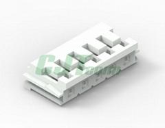 JST连接器 EHR-5 EHR-6 白色环保连接器EH2.5 胶壳接插件