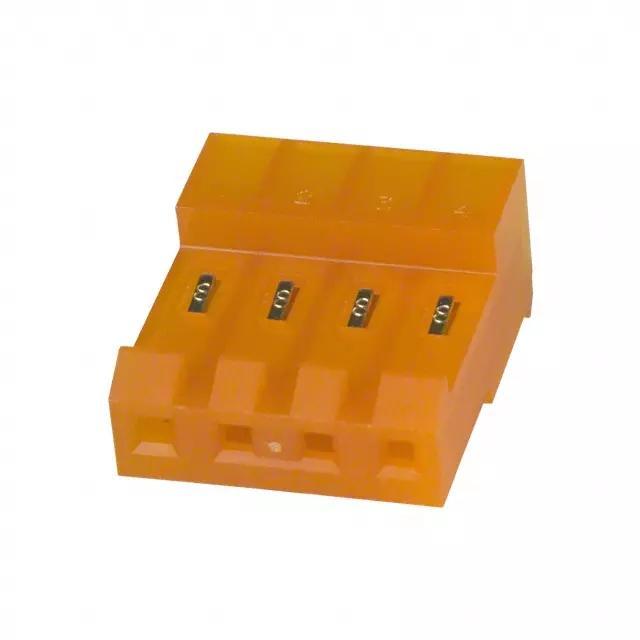 长江连接器D3961,3.96mm刺破连接器640431-2 矩形连接器 2
